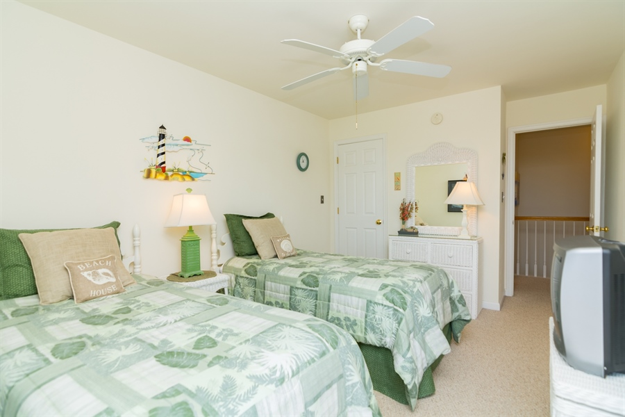 Real Estate Photography - 39035 Beacon Drive #5, 5, Fenwick Island, DE, 19944 - BR 4 alternate view
