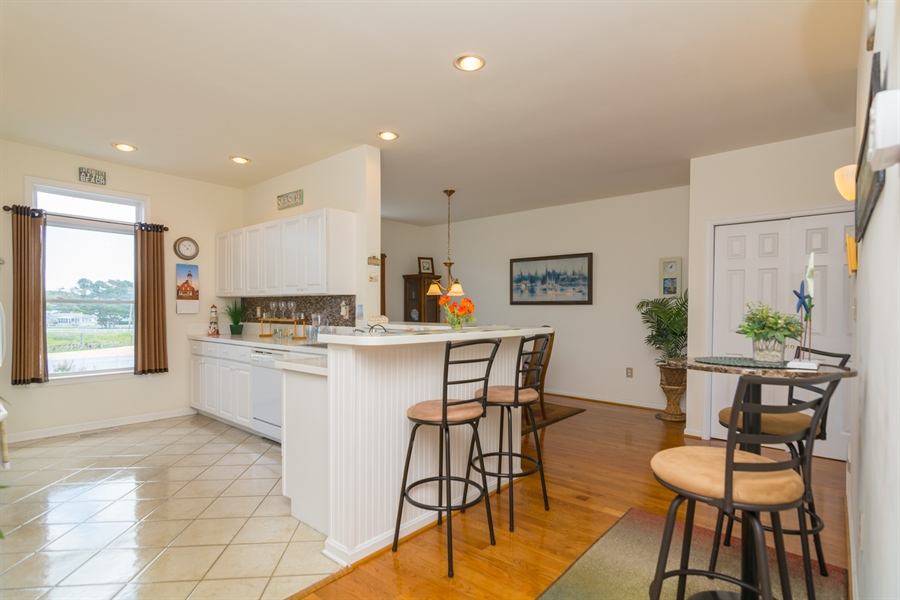 Real Estate Photography - 39035 Beacon Drive #5, 5, Fenwick Island, DE, 19944 - Open concept Kitchen
