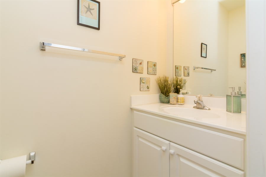 Real Estate Photography - 39035 Beacon Drive #5, 5, Fenwick Island, DE, 19944 - Powder Room