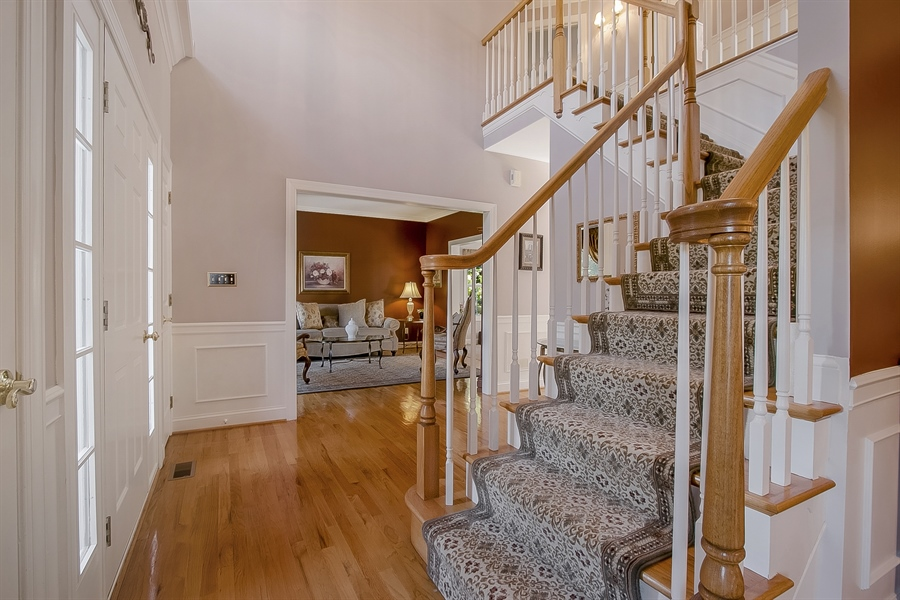 Real Estate Photography - 303 Wyndtree Ct N, Hockessin, DE, 19707 - Impressive Two-Story Foyer