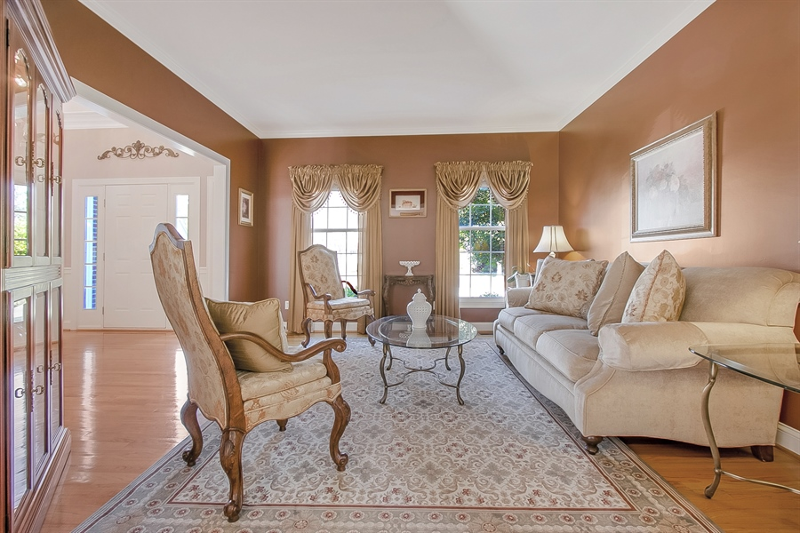 Real Estate Photography - 303 Wyndtree Ct N, Hockessin, DE, 19707 - Another View Of The Living Room