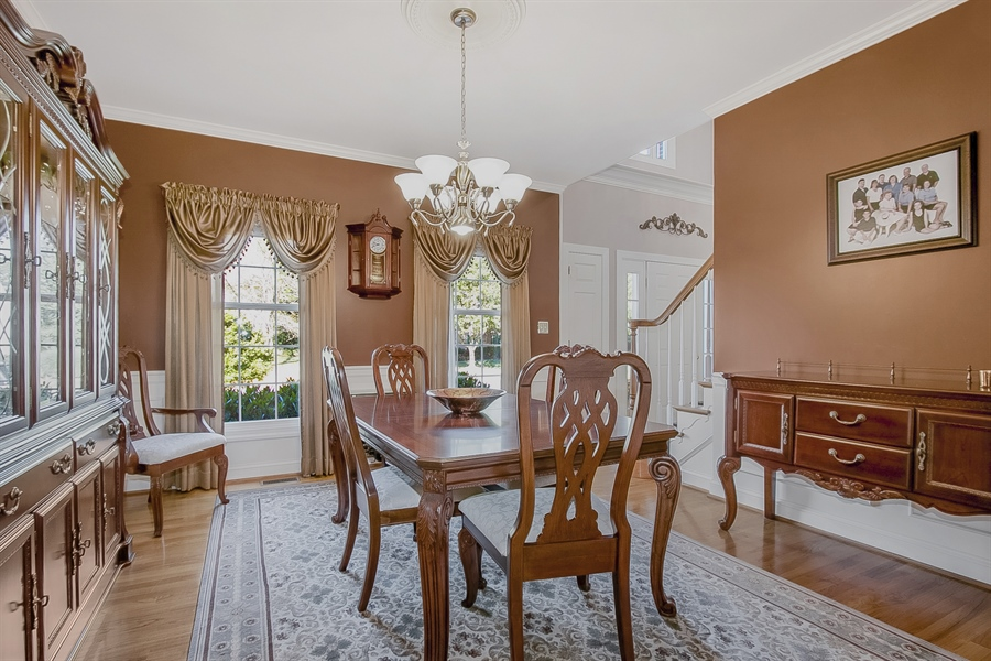 Real Estate Photography - 303 Wyndtree Ct N, Hockessin, DE, 19707 - Delightful Dining Room - Impress Your Guests!