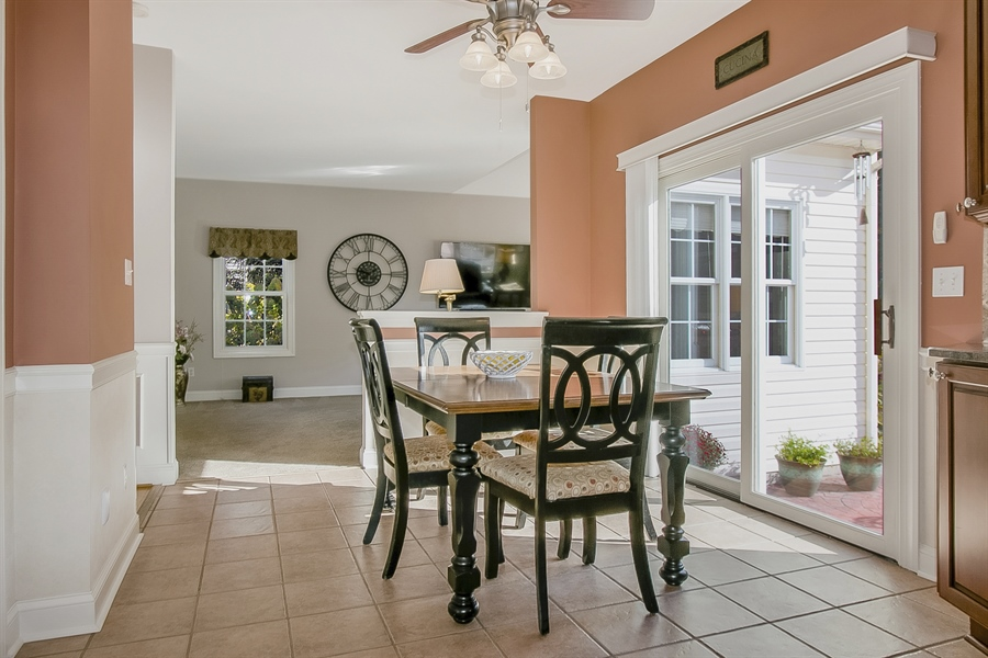 Real Estate Photography - 303 Wyndtree Ct N, Hockessin, DE, 19707 - Nook Is Next To The Family Room - Convenient!