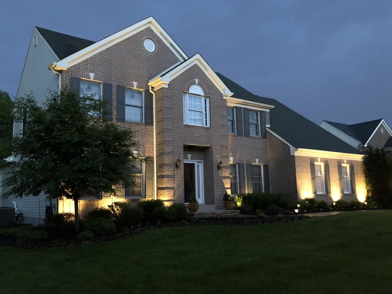 Real Estate Photography - 303 Wyndtree Ct N, Hockessin, DE, 19707 - Stunning At Night, Too!