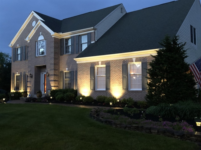 Real Estate Photography - 303 Wyndtree Ct N, Hockessin, DE, 19707 - Another Night View
