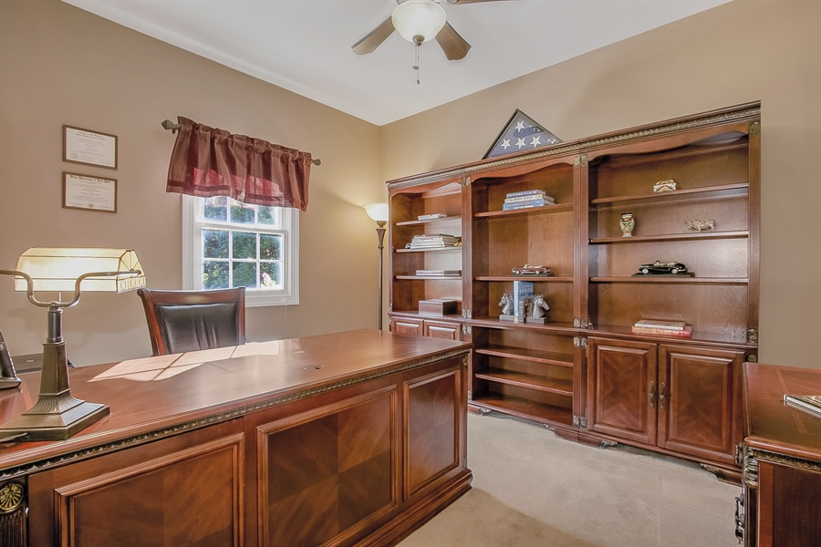 Real Estate Photography - 303 Wyndtree Ct N, Hockessin, DE, 19707 - Spacious, Handsome Study