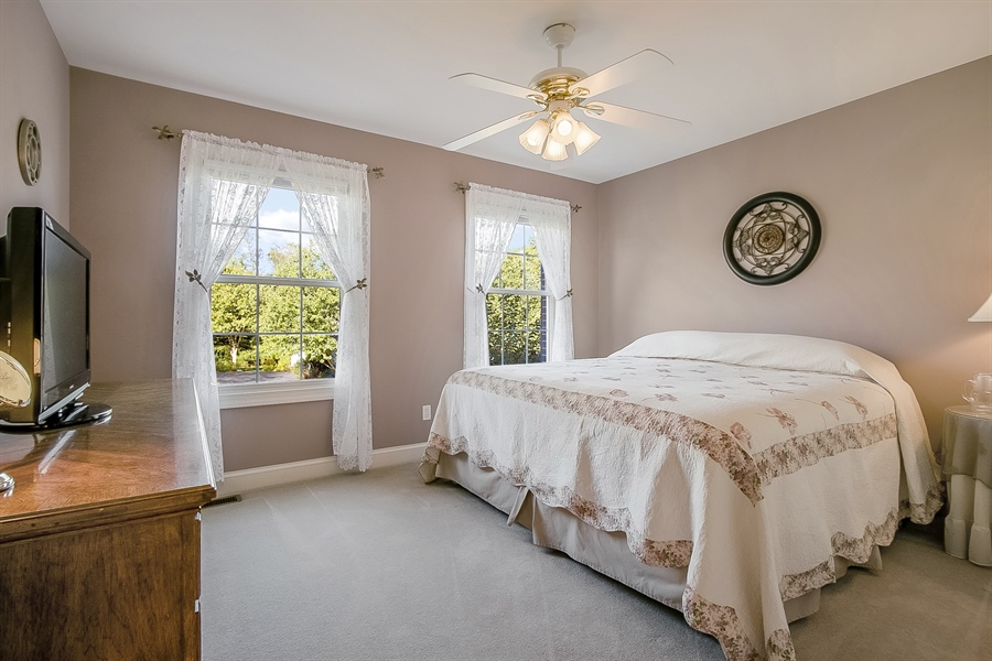 Real Estate Photography - 303 Wyndtree Ct N, Hockessin, DE, 19707 - Second Bedroom Has Two Large Windows