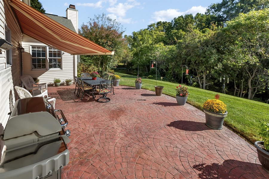 Real Estate Photography - 303 Wyndtree Ct N, Hockessin, DE, 19707 - Another Patio View