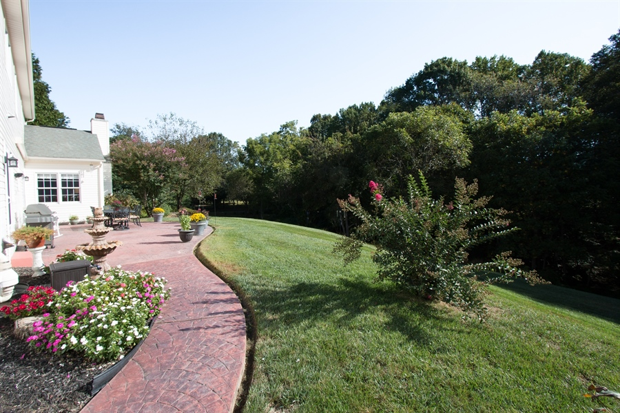 Real Estate Photography - 303 Wyndtree Ct N, Hockessin, DE, 19707 - Lovely Paver Walkway
