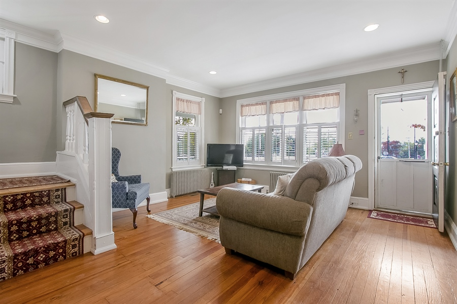 Real Estate Photography - 2905 W 6th St, Wilmington, DE, 19805 - Bright Living Room