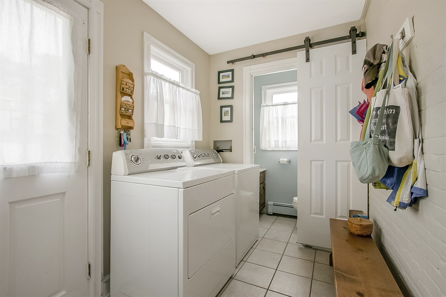 Real Estate Photography - 2905 W 6th St, Wilmington, DE, 19805 - 1st Floor Laundry