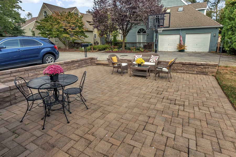 Real Estate Photography - 2905 W 6th St, Wilmington, DE, 19805 - Paver Patio in Rear Yard