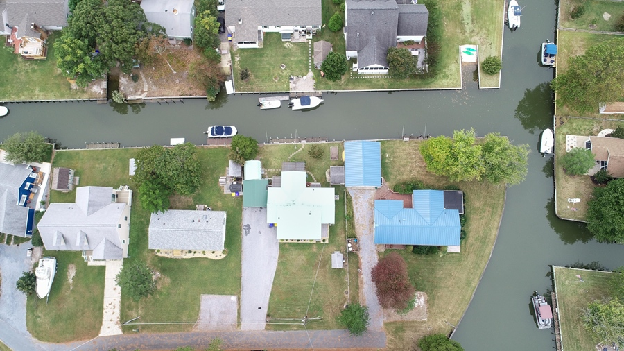 Real Estate Photography - 30347 Terrace Rd, Ocean View, DE, 19970 - Wide Canal