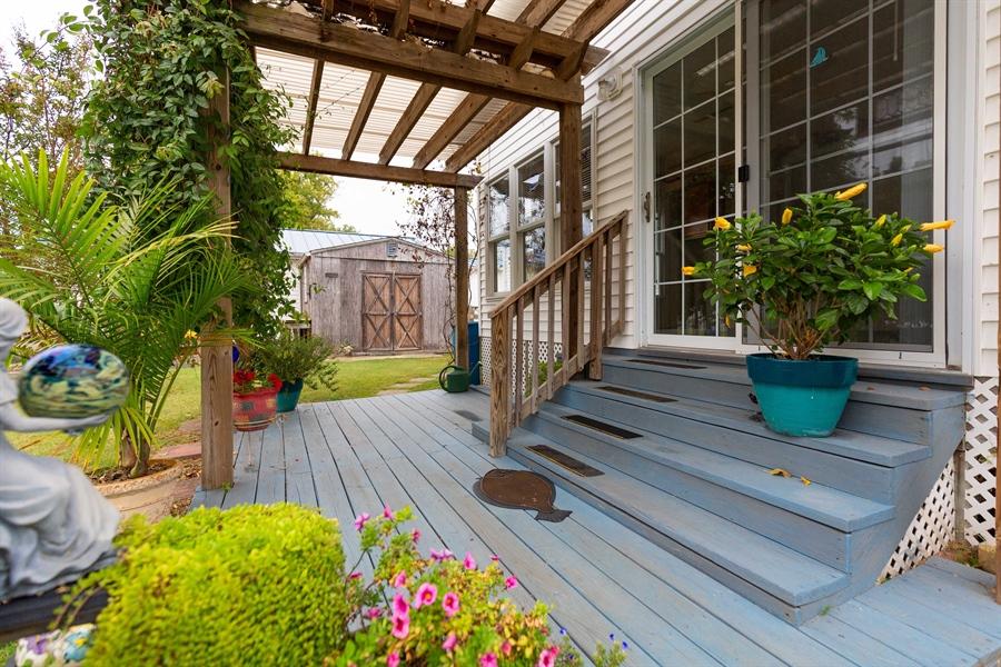 Real Estate Photography - 30347 Terrace Rd, Ocean View, DE, 19970 - Gazebo
