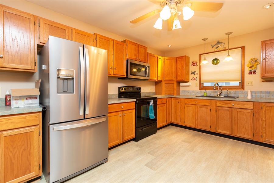Real Estate Photography - 30347 Terrace Rd, Ocean View, DE, 19970 - Stainless Appliances