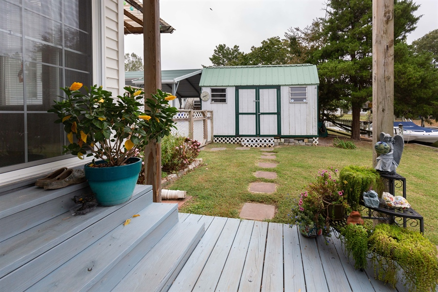 Real Estate Photography - 30347 Terrace Rd, Ocean View, DE, 19970 - Shed 1