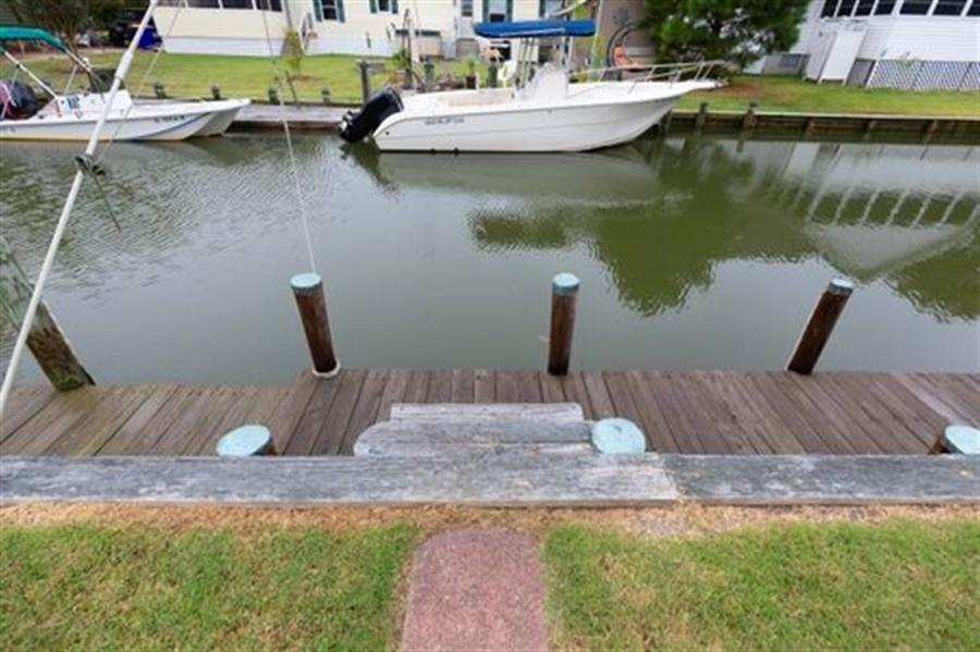Real Estate Photography - 30347 Terrace Rd, Ocean View, DE, 19970 - Private Dock