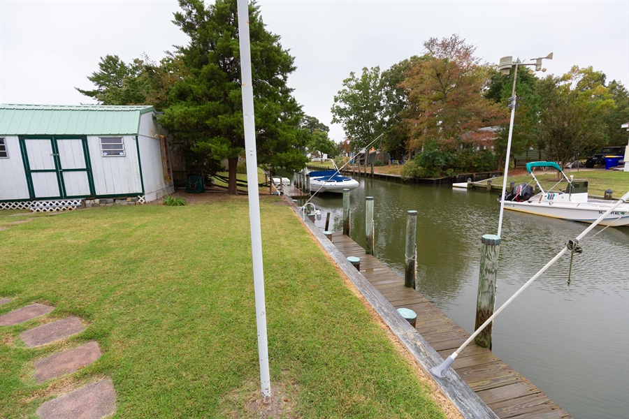 Real Estate Photography - 30347 Terrace Rd, Ocean View, DE, 19970 - View of Canal
