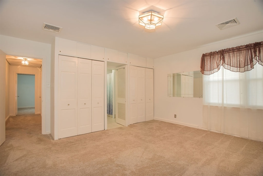 Real Estate Photography - 1817 Linden St, Wilmington, DE, 19805 - Master Bedroom w His & Her Closets