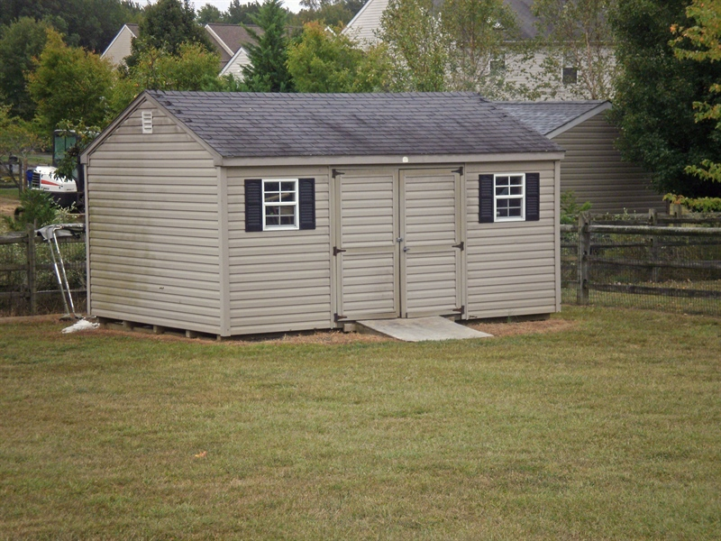 Real Estate Photography - 15 Mica St, Townsend, DE, 19734 - Rear shed included