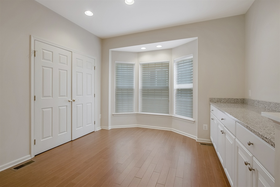 Real Estate Photography - 192 Landis Way N, Wilmington, DE, 19803 - Breakfast nook