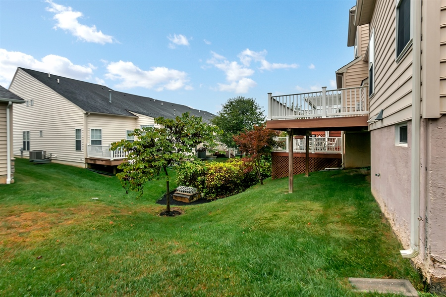 Real Estate Photography - 192 Landis Way N, Wilmington, DE, 19803 - Elevated deck
