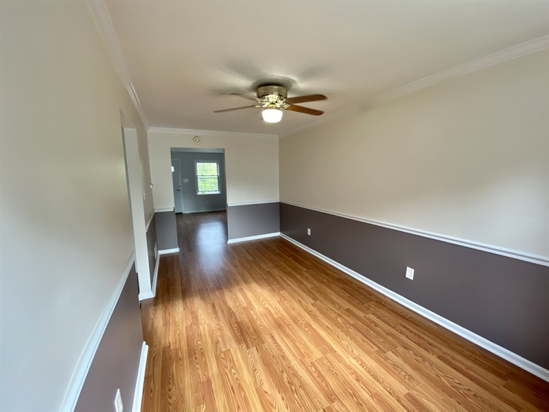 Real Estate Photography - 306 9th Ave, Wilmington, DE, 19805 - Ceiling Fan in Dining Room