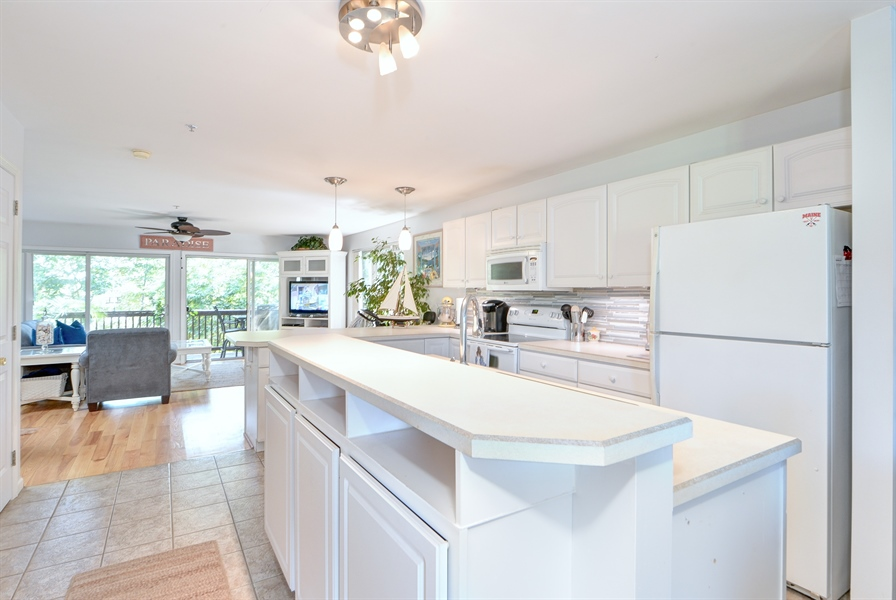 Real Estate Photography - 108 N East Plz, North East, MD, 21901 - Kitchen w/Extra Cabinets in Kitchen Island