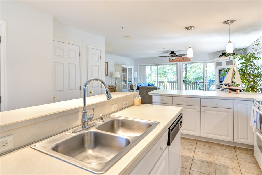 Real Estate Photography - 108 N East Plz, North East, MD, 21901 - Kitchen - Double Sink