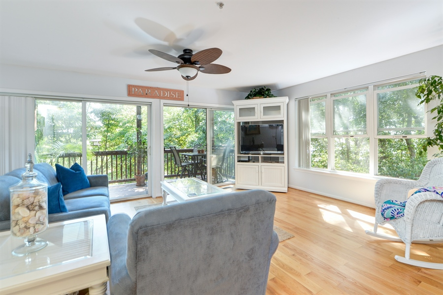 Real Estate Photography - 108 N East Plz, North East, MD, 21901 - Spacious Living Area w/Hardwood Floors and Triple
