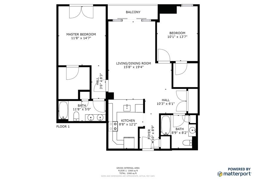 Real Estate Photography - 530  Harlan Boulevard #815, 815, Wilmington, DE, 19801-5177 - Location 26