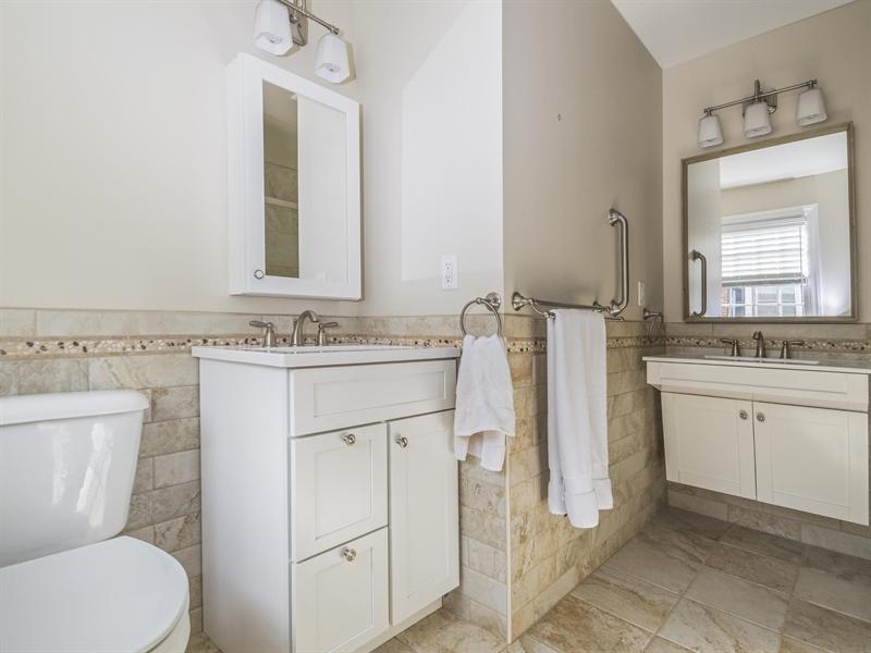 Real Estate Photography - 615 Berwick Rd, Wilmington, DE, 19803 - Master Bathroom