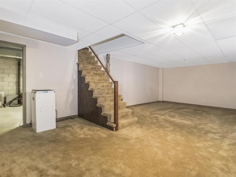 Real Estate Photography - 615 Berwick Rd, Wilmington, DE, 19803 - Basement