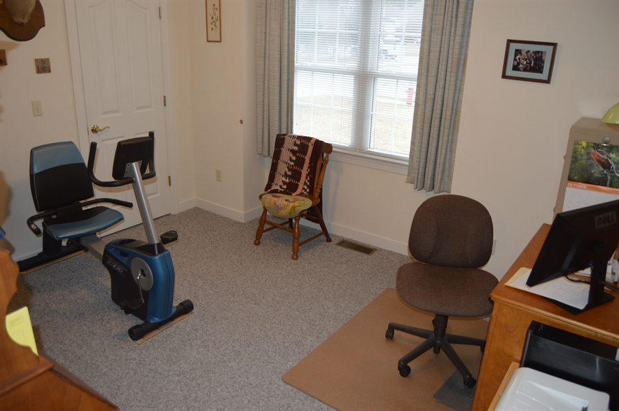 Real Estate Photography - 39 Vining Run, Camden Wyoming, DE, 19934 - Third Bedroom used as Office
