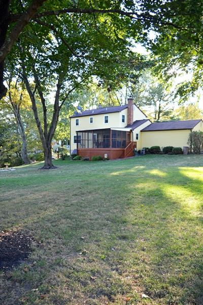 Real Estate Photography - 158 Kirkcaldy Dr, Elkton, MD, 21921 - Large Flat Back Yard with Screened Porch