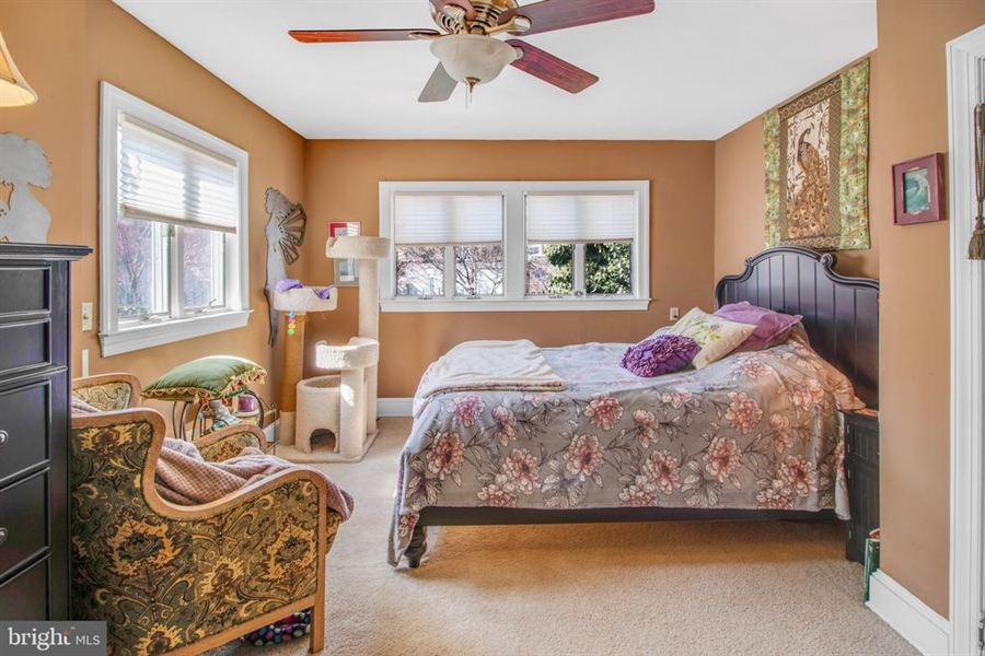 Real Estate Photography - 1325 N West St, Wilmington, DE, 19801 - Master Bedroom