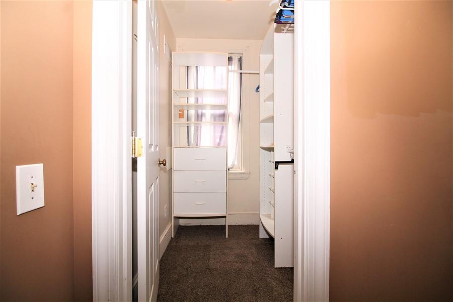Real Estate Photography - 1325 N West St, Wilmington, DE, 19801 - Walk-in Closet