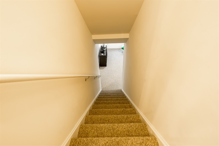 Real Estate Photography - 303 Arch St, Milton, DE, 19968 - Stairs to Lower Level