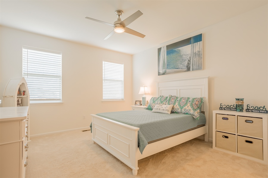 Real Estate Photography - 303 Arch St, Milton, DE, 19968 - First floor Master Bedroom