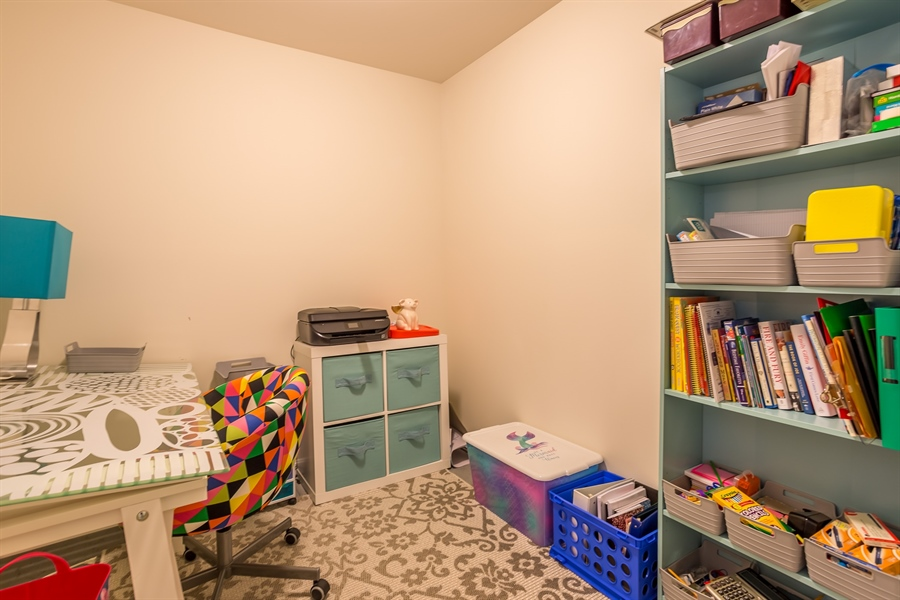 Real Estate Photography - 303 Arch St, Milton, DE, 19968 - 2nd Floor Office/Play Room