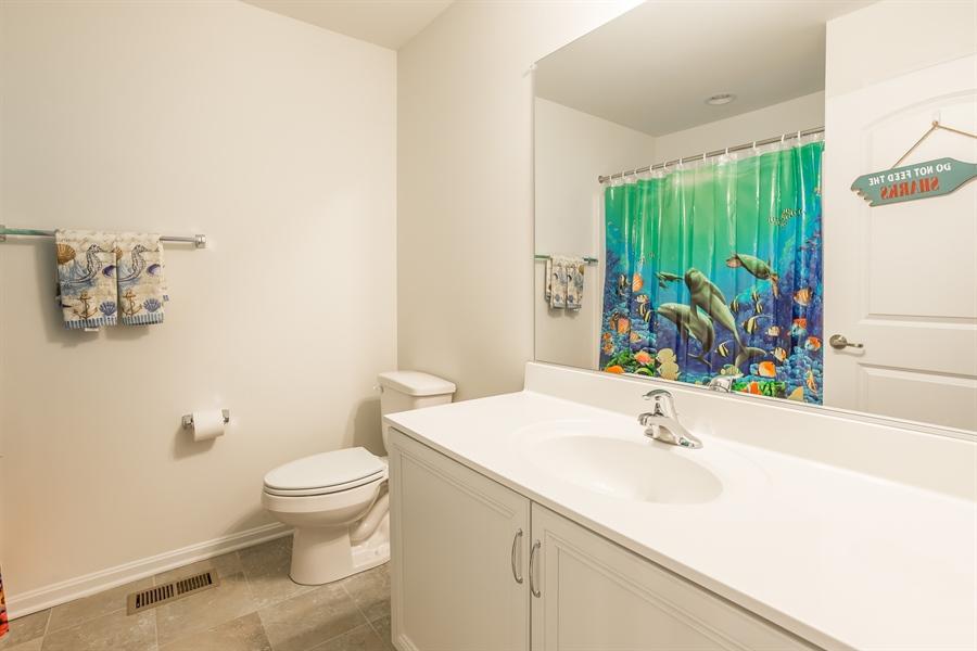 Real Estate Photography - 303 Arch St, Milton, DE, 19968 - 2nd Floor Hall Bath