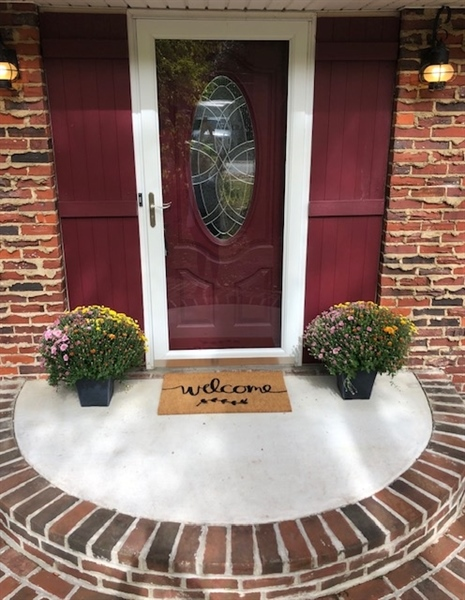 Real Estate Photography - 314 Arbour Dr, Newark, DE, 19713 - Entrance with beautiful hardscaping