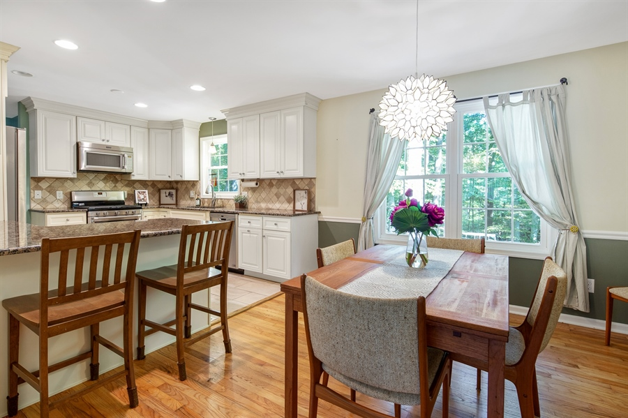 Real Estate Photography - 314 Arbour Dr, Newark, DE, 19713 - Dining Room - open to kitchen