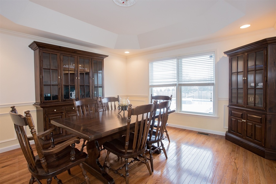 Real Estate Photography - 201 Manor Dr, Middletown, DE, 19709 - Dining Room