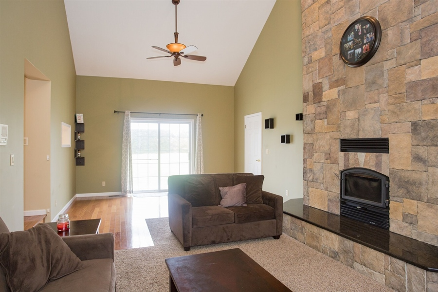Real Estate Photography - 201 Manor Dr, Middletown, DE, 19709 - Alternative View of Family Room