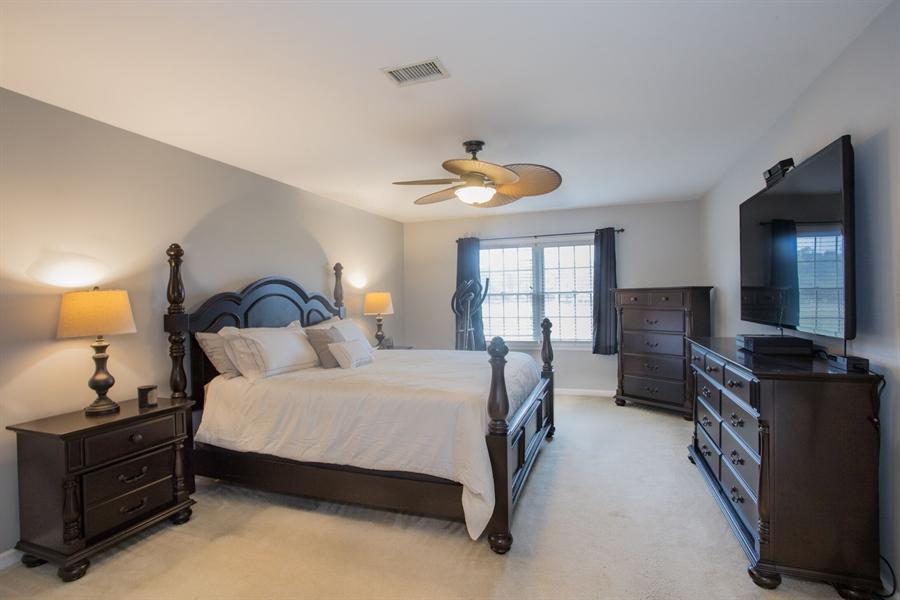 Real Estate Photography - 201 Manor Dr, Middletown, DE, 19709 - Master Bedroom