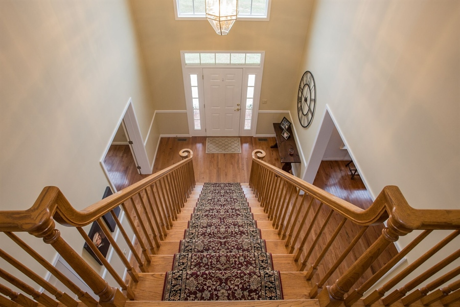 Real Estate Photography - 201 Manor Dr, Middletown, DE, 19709 - Two-Story Foyer