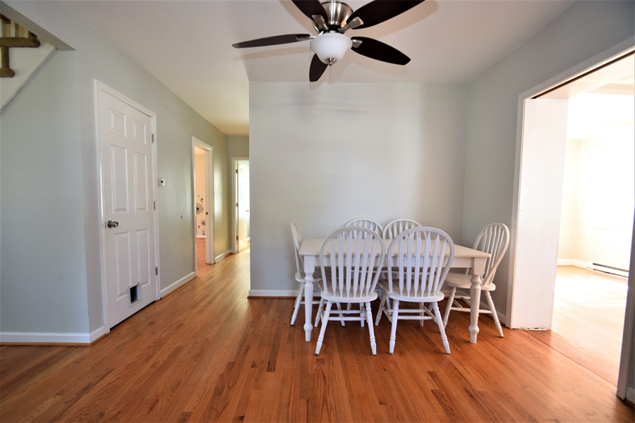 Real Estate Photography - 212 Park Cir, Elkton, MD, 21921 - Kitchen eating area