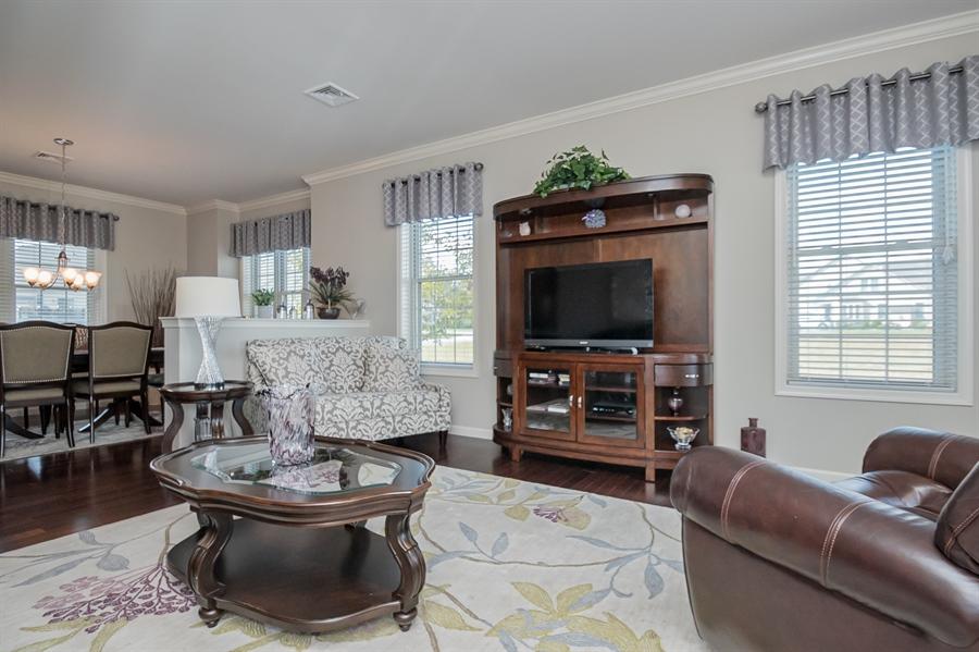 Real Estate Photography - 143 Honeycroft Blvd Boulevard, Cochranville, DE, 19330 - Spacious Living Room