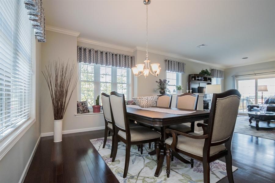 Real Estate Photography - 143 Honeycroft Blvd Boulevard, Cochranville, DE, 19330 - Dining to Living Area